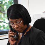 contact centre advisor on phone